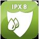 Resistente al agua (IPX8)